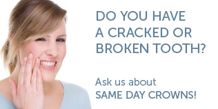Same Day Crowns Available at Sonoran Vista Dentistry - Gilbert One Day Crowns