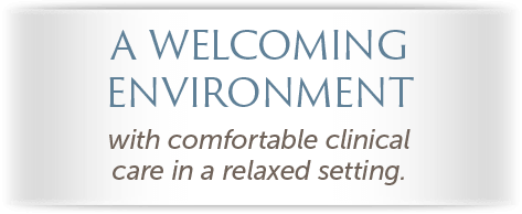 Sonoran Vista Dentistry - A Welcoming Environment Text Overlay