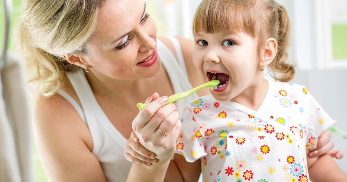 Sonoran Vista Dentistry Child Brushing Teeth - Gilbert Dentist